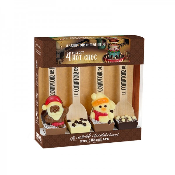 Hot Chocolat - Coffret 4