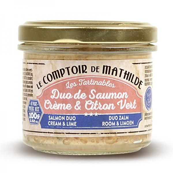 Duo de Saumon Crème & Citron Vert